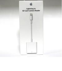 Leitor de Lightning para câmera com cartão SD
