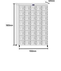 Roupeiro de Aço 40 Portas RCH