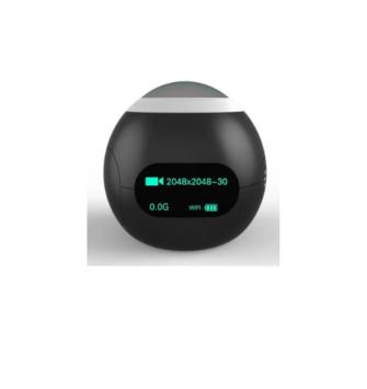 Câmera Panorâmica Sjcam Wifi 0.96 Polegada Hd Sj360° (Branca)