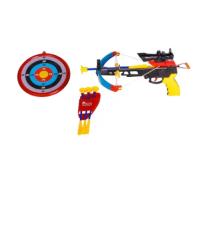 Arco e Flecha Crossbow com Mira de LED Bel Fix