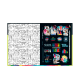 Caderno Now United Brochura Pequeno 80 Folhas