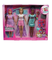 Barbie Aventura De Princesas Festa Do Pijama Mattel