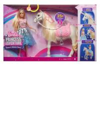 Barbie aventura de princesas morning mattel