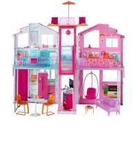 Barbie - Real Super Casa 3 Andares Dly32